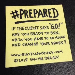 #PREPARED