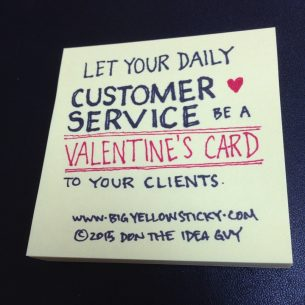 Customer Service Valentine