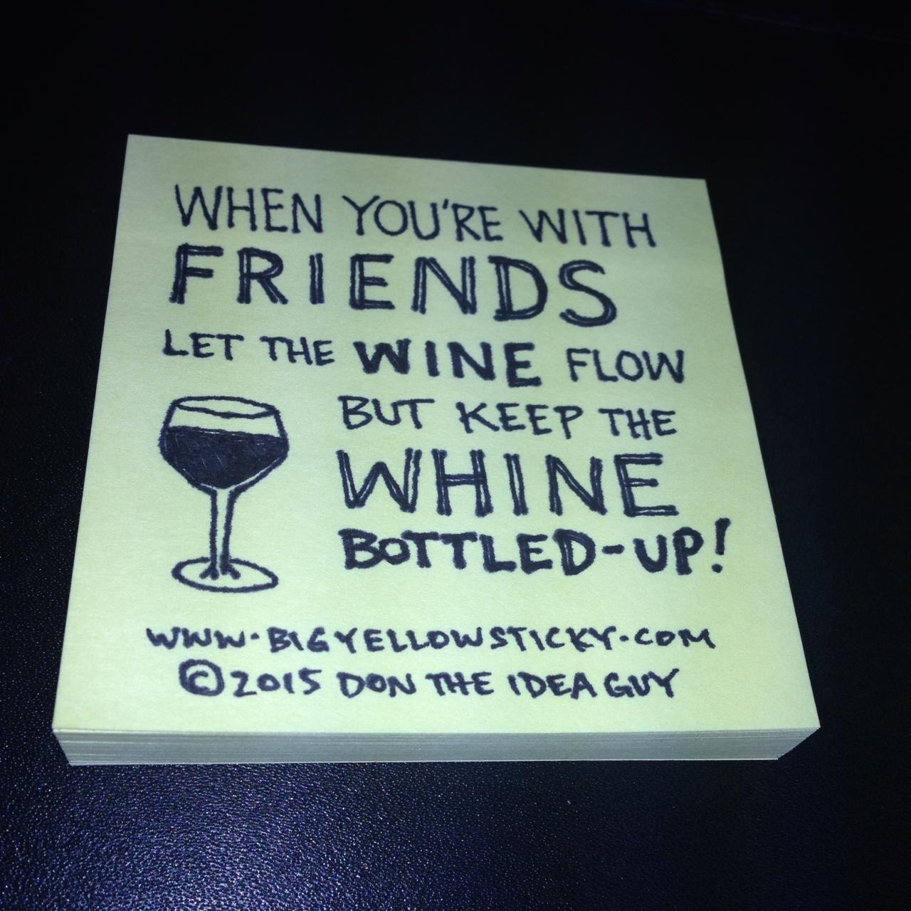 Bottles of Whine