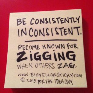Zigging