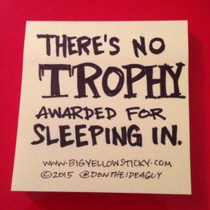 No Trophy
